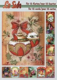 3D Bogen Buch Weihnachtsstimmung - Format A5