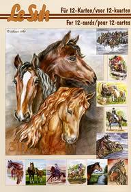 3D Bogen Buch Pferde - Format A5