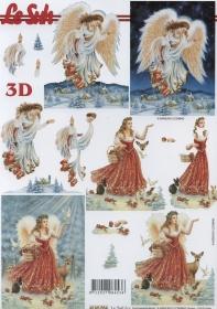 3D Bogen Engel Format A4