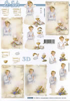 3D Bogen Kommunion Format A4