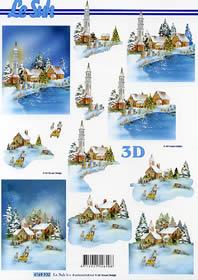 3D Bogen Weihnachtsstimmung - Format A4