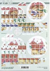 3D Bogen Squares - Format A4