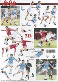 3D Bogen - Fussball Format A4
