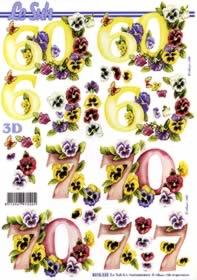 3D Bogen 60+70 Jubiläum - Format A4