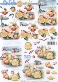 3D Bogen Cocktail Format A4 - Format A4