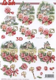 3D Bogen Umzug Format A4 - Format A4