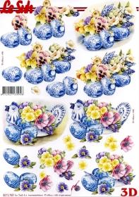 3D Bogen Ostern - Format A4