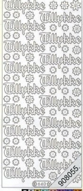 Stickers - Glitzer-Stickers schwarz