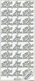 Stickers Text Stickers - english - gold