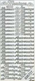 Stickers Text Stickers -  français Heureux anniversaire - gold