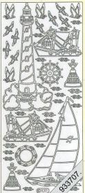 Stickers - Motiv / Figuren silber