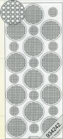 Stickers Ganze-rund grün - grün