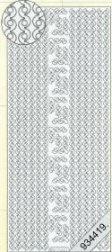 Stickers Bordüren / Linien - schwarz