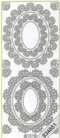 Stickers Ornamente - gold