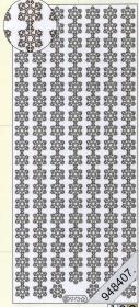 Stickers - Bord / Linien weiß