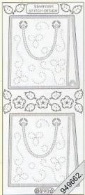 Stickers - Handtaschen silber