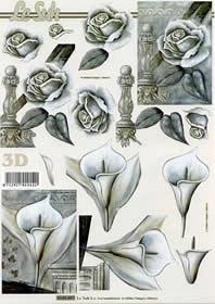 3D Bogen Kondolenz - Format A4