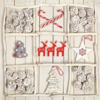 Servietten 33x33 cm - Xmas Handmade Decorations