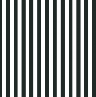 Servietten 33x33 cm - Black Stripes
