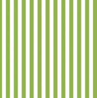 Servietten 33x33 cm - Green Stripes
