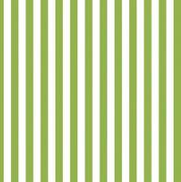 Servietten 33x33 cm - Grüne Streifen