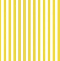 Servietten 33x33 cm - Yellow Stripes
