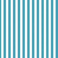 Servietten 33x33 cm - Light Blue Stripes