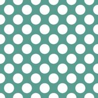 Servietten 33x33 cm - Polka Dots Turquoise