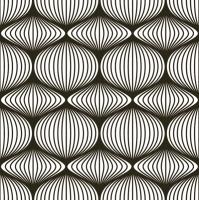 Servietten 33x33 cm - Graphic Stencil Black & White