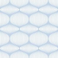 Servietten 33x33 cm - Grafikschablone Blau & Weiß