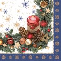 Servietten 33x33 cm - Trationale Weihnachtsmotive