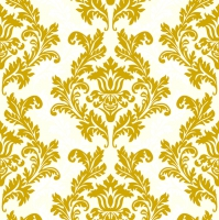 Servietten 33x33 cm - Cream & Gold Wallpaper