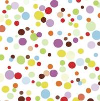 Servietten 33x33 cm - Colourful Spots