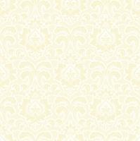 Servietten 33x33 cm - Wallpaper Pattern Cream