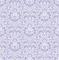 Servietten 33x33 cm - Wallpaper Pattern Lavender