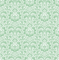 Servietten 33x33 cm - Wallpaper Pattern Mint
