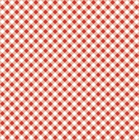 Servietten 33x33 cm - Diagonal Red Check