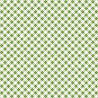 Servietten 33x33 cm - Diagonal Green Check