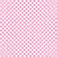Servietten 33x33 cm - Diagonal Pink Check