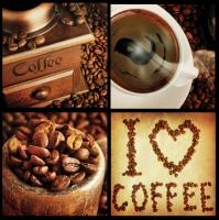 Servietten 33x33 cm - Für Kaffeeliebhaber