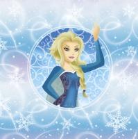 Servietten 33x33 cm - Frozen Girl