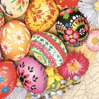 Servietten 33x33 cm - Easter Eggs Variety