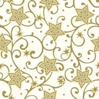 50 Linclass Dinner Servietten - Josh (champagner/gold)