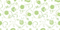 Tischläufer 40 cm x 24 ldm. - ELLIE frisch-grün