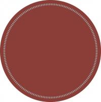 Untersetzer - BASIC: BORDEAUX (Rand 37)