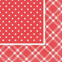 Tissue Servietten 33x33 cm - ANTONIA Fäulnis