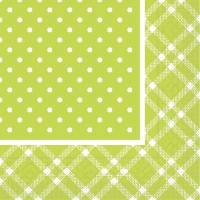Tissue Servietten 33x33 cm - ANTONIA lime