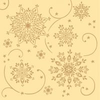 Linclass Servietten 40x40 cm - Cristal  (creme)