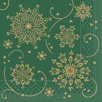 Tissue Servietten 33x33 cm - Cristal  (grün)
