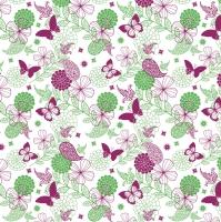 50 Tischdecken - NATALIE pink-gr̮
